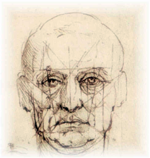 Da Vinci 'Face and Eye'