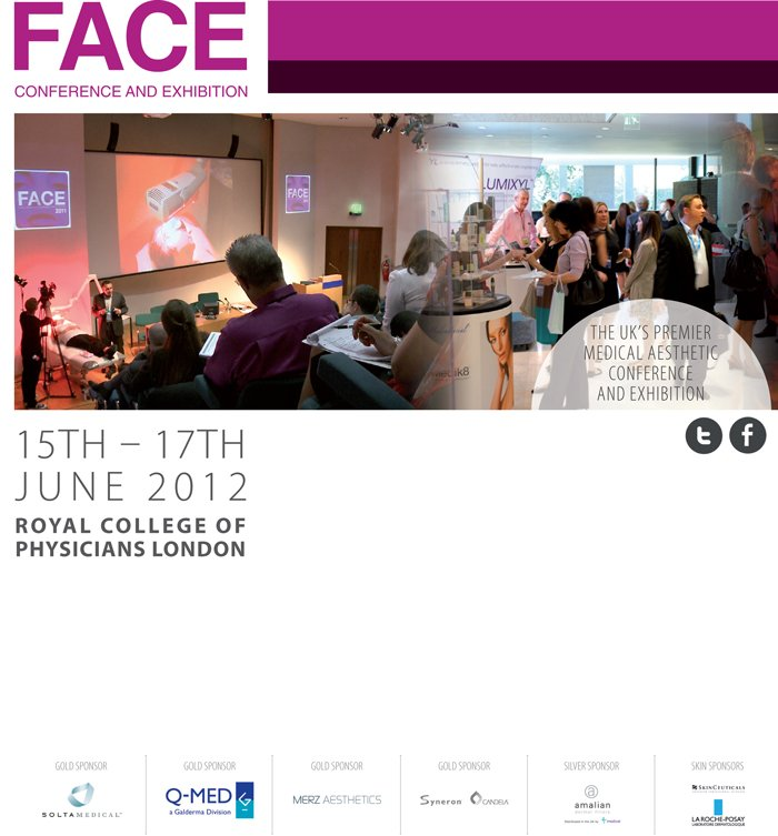 Face Conference Flyer, June 15-17, 2012
