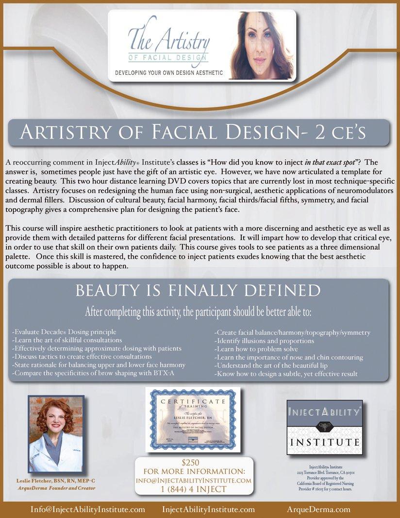 Artistry of Facial Design