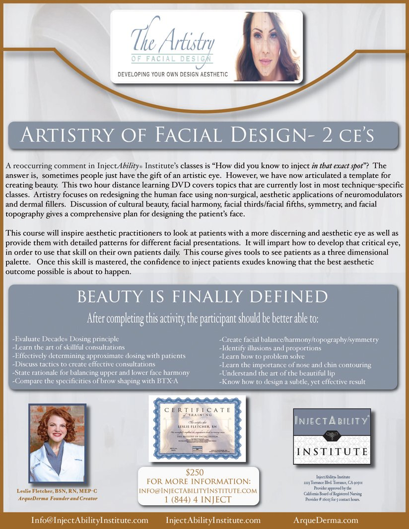 Artistry of Facial Design
